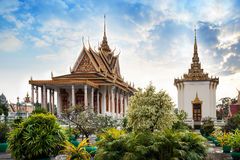 Pagoda argentée, Royal Palace, Phnom Penh, attractions No.1 dans la came Photo libre de droits