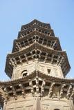 Pagoda asiática Imagen de archivo