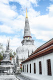Pagoda au mahathat de phra de wat Photos libres de droits