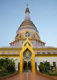 Pagoda au temple de tonne de Tha Image stock