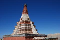 Pagoda au Thibet occidental Photo libre de droits