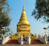 Pagoda av Thailand Fotografering för Bildbyråer