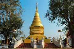 Pagoda av Thailand Royaltyfri Bild