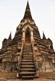 Pagoda@Ayudhya Tailândia fotografia de stock