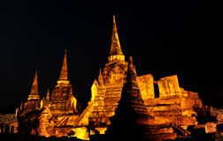 Pagoda@Ayudhya Tailândia imagem de stock