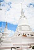 Pagoda in Ayudthaya. Pagoda with the blue sky Stock Image