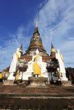 Pagoda in ayuthaya Royalty Free Stock Photos