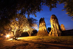 Pagoda in ayuthaya Stock Images
