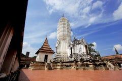 Pagoda in ayuthaya Royalty Free Stock Photo