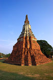 Pagoda of Ayutthaya Stock Images