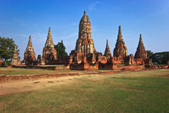 Pagoda of Ayutthaya Stock Photos