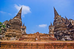 Pagoda of Ayutthaya Royalty Free Stock Image