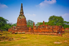 Pagoda of Ayutthaya Stock Image