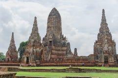 Pagoda in Ayutthaya. Royalty Free Stock Photos