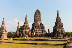 Pagoda in ayutthaya Royalty Free Stock Images