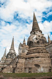 Pagoda at ayutthaya historical park in thailand Stock Photography