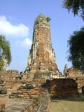 Pagoda of Ayutthaya, Thailand Stock Photo