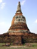 Pagoda of Ayutthaya, Thailand Royalty Free Stock Photos