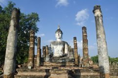 The Pagoda at Ayutthaya Thailand Stock Image