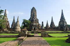 The Pagoda at Ayutthaya Thailand Royalty Free Stock Photo