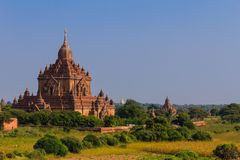 Pagoda ,  Bagan in Myanmar (Burmar) Royalty Free Stock Image