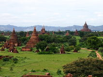 Pagoda of bagan, myanmar Royalty Free Stock Photo