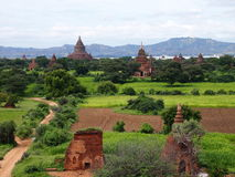 Pagoda of bagan, myanmar Royalty Free Stock Photography