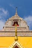 Pagoda bajo luz del sol en el bangnomko del wat Fotografía de archivo