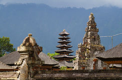 The pagoda in Bali Royalty Free Stock Photography