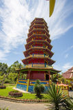Pagoda Ban Hin Kiong Temple ,  north Sulawesi,Indonesia Stock Image
