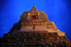 Pagoda in Bangkok. Pagoda in Wat Pho Temple in Bangkok Royalty Free Stock Photos