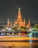 Wat Arun Ratchawararam in Bangkok Stock Photo