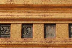 Pagoda base Stock Image