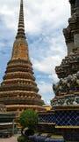 Pagoda. The beautiful temple Royalty Free Stock Photo