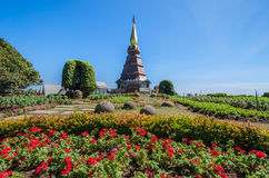 The pagoda. And beauty nature Stock Photo