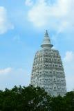 Pagoda bianca Fotografie Stock Libere da Diritti