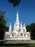 Pagoda bianca Fotografie Stock