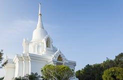 Pagoda bianca nel tempio Fotografia Stock