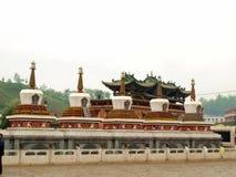 Pagoda bianco Immagine Stock