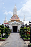 Pagoda bianco. Fotografia Stock