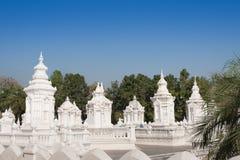 Pagoda bianco Fotografia Stock