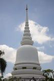 Pagoda bianco a Bangkok Fotografie Stock Libere da Diritti