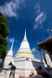 Pagoda bianco nel tempiale Fotografia Stock