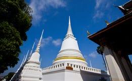 Pagoda bianco nel tempiale Fotografie Stock Libere da Diritti