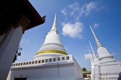Pagoda bianco nel tempiale Immagine Stock
