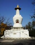 Pagoda blanca Imágenes de archivo libres de regalías