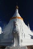 Pagoda blanca Fotos de archivo libres de regalías