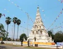 Pagoda blanca Imagen de archivo libre de regalías