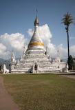 Pagoda blanca de Tailandia Fotografía de archivo libre de regalías