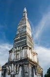 Pagoda blanca en Tailandia Imagen de archivo